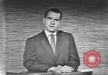 Image of presidential election debate Washington DC USA, 1960, second 53 stock footage video 65675073653