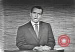 Image of presidential election debate Washington DC USA, 1960, second 54 stock footage video 65675073653