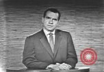 Image of presidential election debate Washington DC USA, 1960, second 56 stock footage video 65675073653