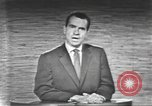 Image of presidential election debate Washington DC USA, 1960, second 58 stock footage video 65675073653