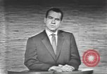 Image of presidential election debate Washington DC USA, 1960, second 60 stock footage video 65675073653