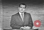 Image of presidential election debate Washington DC USA, 1960, second 61 stock footage video 65675073653