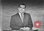 Image of presidential election debate Washington DC USA, 1960, second 62 stock footage video 65675073653