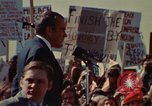 Image of Richard Nixon speaks to automobile workers during energy crisis Saginaw Michigan USA, 1974, second 29 stock footage video 65675073721