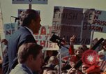Image of Richard Nixon speaks to automobile workers during energy crisis Saginaw Michigan USA, 1974, second 48 stock footage video 65675073721