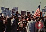 Image of Richard Nixon speaks to automobile workers during energy crisis Saginaw Michigan USA, 1974, second 61 stock footage video 65675073721