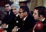 Image of Henry Kissinger Paris France, 1973, second 21 stock footage video 65675073773