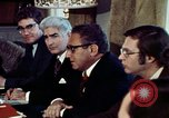Image of Henry Kissinger Paris France, 1973, second 22 stock footage video 65675073773