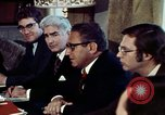Image of Henry Kissinger Paris France, 1973, second 23 stock footage video 65675073773
