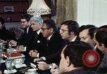 Image of Henry Kissinger Paris France, 1973, second 28 stock footage video 65675073773