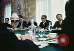 Image of Henry Kissinger Paris France, 1973, second 39 stock footage video 65675073773