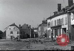 Image of World War 2 ruins in Chaumont-Porcien France Chaumont-Porcien France, 1940, second 11 stock footage video 65675073796