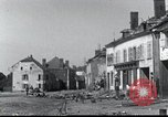 Image of World War 2 ruins in Chaumont-Porcien France Chaumont-Porcien France, 1940, second 12 stock footage video 65675073796
