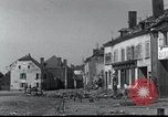 Image of World War 2 ruins in Chaumont-Porcien France Chaumont-Porcien France, 1940, second 13 stock footage video 65675073796