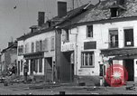 Image of World War 2 ruins in Chaumont-Porcien France Chaumont-Porcien France, 1940, second 15 stock footage video 65675073796