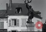 Image of World War 2 ruins in Chaumont-Porcien France Chaumont-Porcien France, 1940, second 21 stock footage video 65675073796
