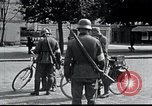 Image of German troops Compiegne France, 1940, second 29 stock footage video 65675073800