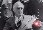 Image of Franklin Roosevelt Middle East, 1943, second 46 stock footage video 65675073830