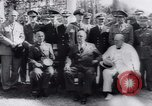 Image of Franklin Roosevelt Middle East, 1943, second 56 stock footage video 65675073830