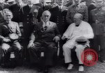 Image of Franklin Roosevelt Middle East, 1943, second 62 stock footage video 65675073830