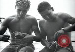 Image of underwater demolition team Balikpapan Borneo Indonesia, 1945, second 11 stock footage video 65675073846