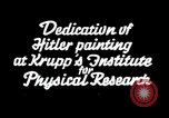 Image of painting of Adolf Hitler Germany, 1934, second 1 stock footage video 65675073852