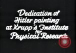 Image of painting of Adolf Hitler Germany, 1934, second 2 stock footage video 65675073852