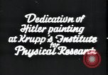 Image of painting of Adolf Hitler Germany, 1934, second 4 stock footage video 65675073852