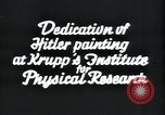 Image of painting of Adolf Hitler Germany, 1934, second 6 stock footage video 65675073852