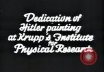Image of painting of Adolf Hitler Germany, 1934, second 8 stock footage video 65675073852