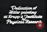 Image of painting of Adolf Hitler Germany, 1934, second 11 stock footage video 65675073852