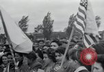Image of inmates Germany, 1945, second 16 stock footage video 65675073858