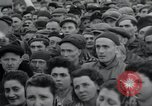 Image of inmates Germany, 1945, second 33 stock footage video 65675073858