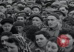 Image of inmates Germany, 1945, second 38 stock footage video 65675073858