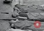 Image of emaciated corpses Germany, 1945, second 4 stock footage video 65675073860