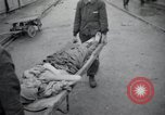 Image of emaciated corpses Germany, 1945, second 39 stock footage video 65675073860
