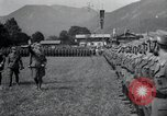 Image of Nazi officials at highway opening Austria, 1938, second 10 stock footage video 65675073870