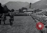 Image of Nazi officials at highway opening Austria, 1938, second 11 stock footage video 65675073870