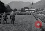 Image of Nazi officials at highway opening Austria, 1938, second 12 stock footage video 65675073870