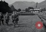Image of Nazi officials at highway opening Austria, 1938, second 13 stock footage video 65675073870