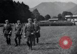 Image of Nazi officials at highway opening Austria, 1938, second 15 stock footage video 65675073870