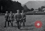 Image of Nazi officials at highway opening Austria, 1938, second 16 stock footage video 65675073870