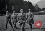 Image of Nazi officials at highway opening Austria, 1938, second 18 stock footage video 65675073870