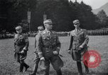 Image of Nazi officials at highway opening Austria, 1938, second 19 stock footage video 65675073870