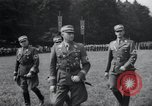 Image of Nazi officials at highway opening Austria, 1938, second 20 stock footage video 65675073870