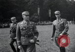 Image of Nazi officials at highway opening Austria, 1938, second 21 stock footage video 65675073870