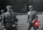 Image of Nazi officials at highway opening Austria, 1938, second 22 stock footage video 65675073870