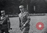 Image of Nazi officials at highway opening Austria, 1938, second 23 stock footage video 65675073870