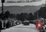 Image of Nazi officials at highway opening Austria, 1938, second 27 stock footage video 65675073870