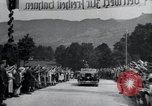 Image of Nazi officials at highway opening Austria, 1938, second 28 stock footage video 65675073870